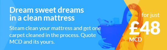 Pay Less for Mattress Cleaning in London