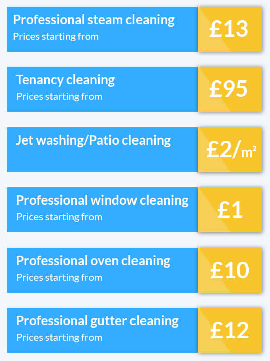 Extra Discounts on Our Cleaning Services Only Today